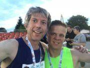 Biegam z moimi zawodnikami - zawody 5000 m